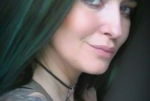 hairstyles / hair  hairstyle greenhair redhair stylisthair