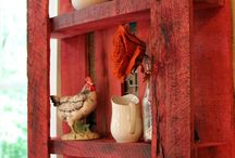 Chicken Wire, Burlap & Pallets! / by C.Riostirado