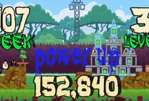 angry birds Week 107 all levels power up / Angry Birds Friends Tournament  Week 107 - Week 108 - all levels - 02 jun 2014 - 3 star strategy High Scores This is our  power up