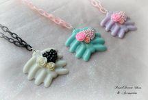 creepy cute, pastel goth jewellery