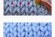 knitting and crochet stitches