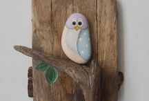 Rock Painting Ideas / Rock painting ideas, stone art, stone painting, rock decorating, garden art.