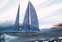 Aquila Solar Sailing Yacht