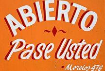 Spanish typography