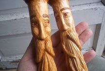 Wood and Whittlin / Bought some Whittlin tools but cant seem to find the time to do much whittlin yet...   / by Bud Coiner