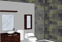 BATHROOM: 4 ½ x 9' / WANT A FREE DESIGN?  SEND MEASUREMENTS TO marmotechpr@ gmail.com. LIKE US ON FACEBOOK