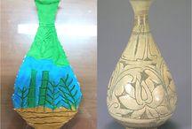 Art education / An elementary school art class