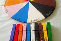 Träna färger