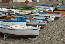 Barche / Le barche che si possono ammirare a Cetara in Costiera Amalfitana, dalle più piccole a remi alle grandi tonnare