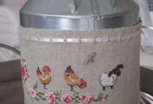 Cross stitch spring