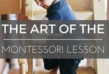 Montessori / Trace the shapes
