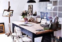 Inspired Wurk Spaces / by Shelley Robertson