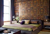 Спальня / Интерьер спален. Кровати. Постельное белье. Текстиль