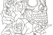 Sugar Skulls for Rikkie / by Kirai Garner