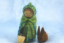 Рукотворное: куклы / Handmade dolls