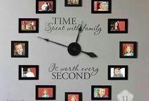 Wall decor / Clock