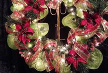 Christmas wreaths  / custom made Christmas wreaths and decor