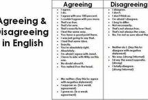 agreeing dissagreeing