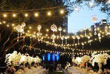 Outdoor summer elegance wedding / by KathyEStudio