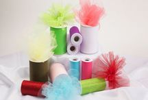 Craft Supplies - Ribbons / Tulle / Lace / Cords / by Nivethetha Sudhakar