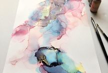 Alcohol Ink Artwork