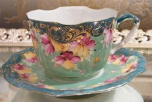 CHINTZ & ART DECO CHINA  / Cups and saucers and tea sets for those afternoon teas or just to play ladies.... enjoy