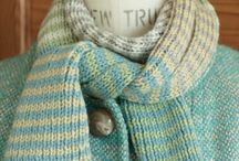 Knitting:  Tørklæder, Halsrør, Sjaler & Tæpper / by Lone Bach