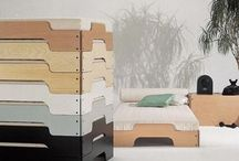 STACKABLE _ IDEAS FOR HOTEL / stackable - beds, tables, chairs etc