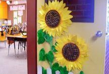 porte aula decorate