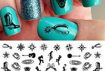 Horsey Nail Designs