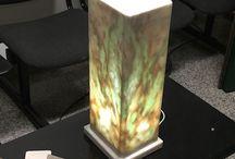 Lampade Marmiweb - Onice  marmi pregiati / Realizzazione di lampade speciali e particolari artigianali create con materiali pregiati quali Onici - Rosa Portogallo - Bianco Carrara - Travertino