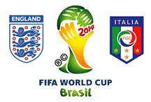 Inglaterra 1-2 Italia // England 1-2 Italy / Italia resiste y celebra (1-2) Italia arrancó con una sufrida victoria por 1-2 ante Inglaterra su andadura en el exigente Grupo D de la Copa Mundial de la FIFA Brasil 2014™, el sábado 14 de junio en Manaos.
