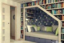 Reading Nook / by Rachel Watson