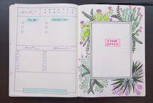 JOURNAL / Pomysły na udekorowanie swoich zeszytów i kalendarzy.