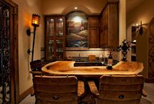 Wine Room Designs / Bring class, luxury and entertainment into your home with a wine room design customized to your tastes and lifestyle. Speak with a designer by visiting our website or calling our showroom floor. http://eklektikinteriors.com/wine-room-design