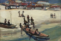 Beach Scenes / John Moran Auctioneers Altadena Ca Selling California and American Fine Art at auction