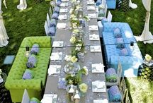 To Die For Table Settings / by Jamee Bryant/Setting The Mood