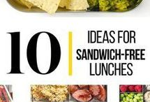 Lunch ideas / Lunch box ideas for both kids and adults who need to pack a to go lunch. Many cold lunch ideas as well as hot lunch ideas and even some weekend lunches at home.