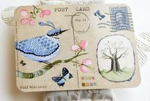 Art mail - post card