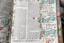 *Jude-Bible Journaling by Book / Bible Journaling examples from the book of Jude
