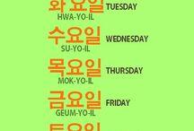 Korean language  / by Nelly Ahmad