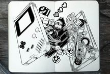 365 day of doodles