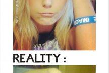 expeactions vs reality