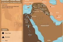 The Middle East - Bible maps