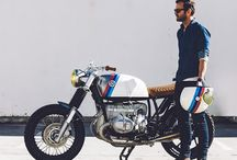 BMW cafe racer & other