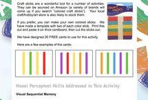 Free Visual Perceptual Skill Activities
