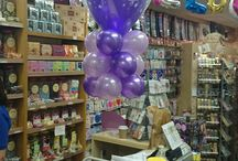 Floating Clouds / Floating Clouds made by Scotts 79 Shenley Road,  Borehamwood, Hertfordshire  WD6 1AG  enquiries@scottsballoons.co.uk