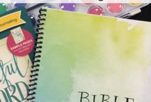 Bible Journaling / Resources, ideas and inspirations for my Bible Journaling.