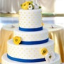 PCF Weddings - Cake Flowers / http://www.pcfweddings.com