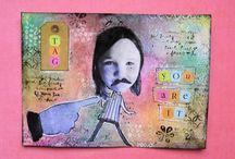 Art Love / Mixed media and abstract art!
